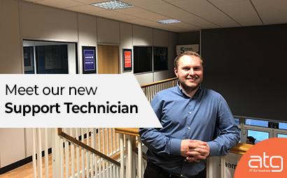Meet our new Support Technician, Adam Williams
