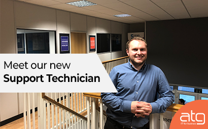 Meet our new Support Technician, Adam Williams