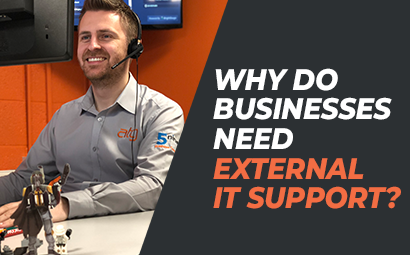 Why do businesses need external IT Support?